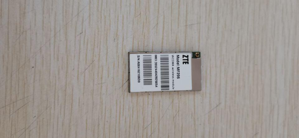 中兴内置3G模块 MF206