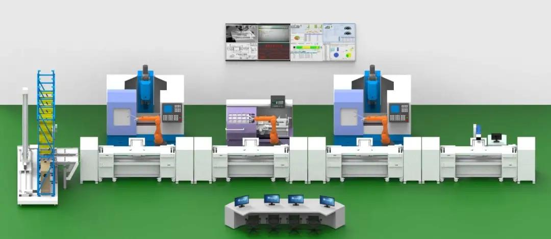 工业智能制造生产线应用RFID技术,实现生产可视化管理