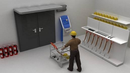 RFID技术加强电力工具安全管理