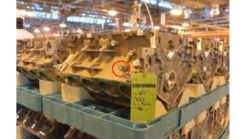 螺丝RFID载码体在发动机制造中的应用