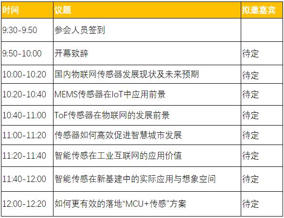 IOTE · 2021 上海国际物联网传感器高峰论坛火热报名中,欢迎来撩!