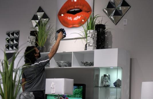 家具店通过RFID实现了对门店的可视化管理