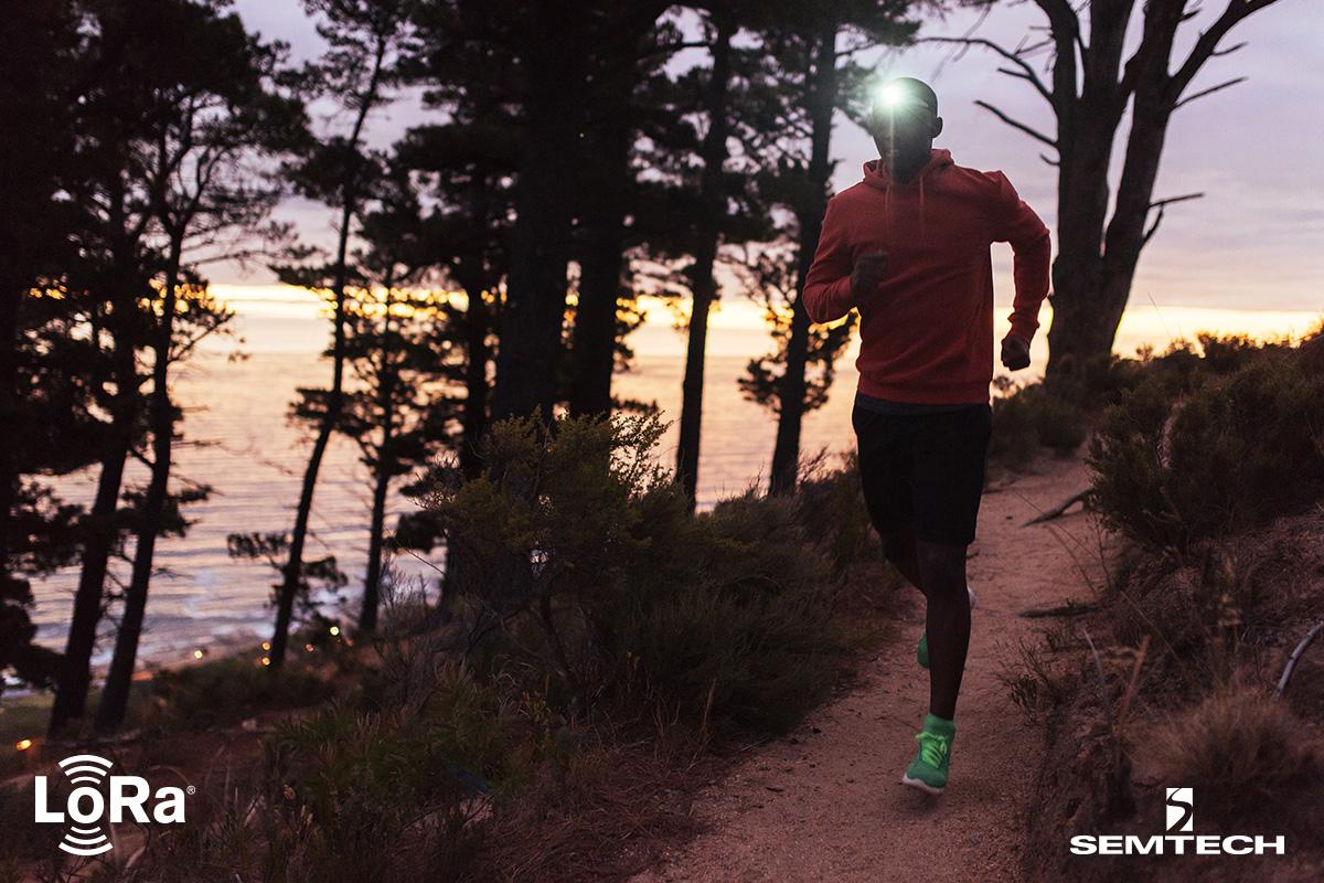 Semtech的LoRa®器件用于监测超级马拉松参赛者的安全